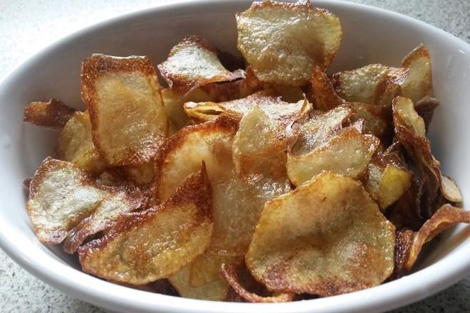 Fırında Patates Cips 1