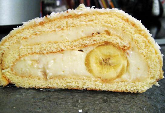 Kadayıflı Muz Dolgulu Kek Videosu
