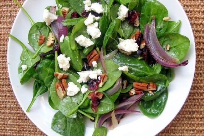 Ispanak Salatası Yapılışı 1
