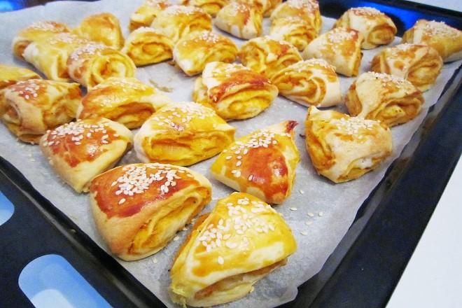 Üçgen Tuzlu Pasta Yapımı